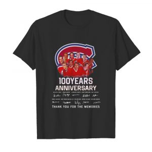 100 Years Anniversary Montreal Canadiens Thank You For The Memories  Classic Men's T-shirt
