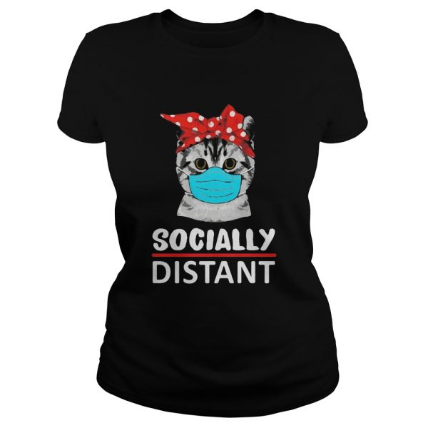 Cat mask social distant  Classic Ladies