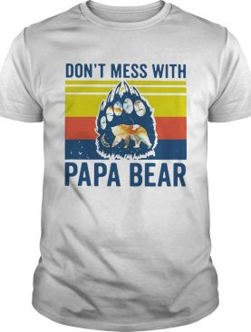 Dont Mess With Papa Bear Vintage shirt