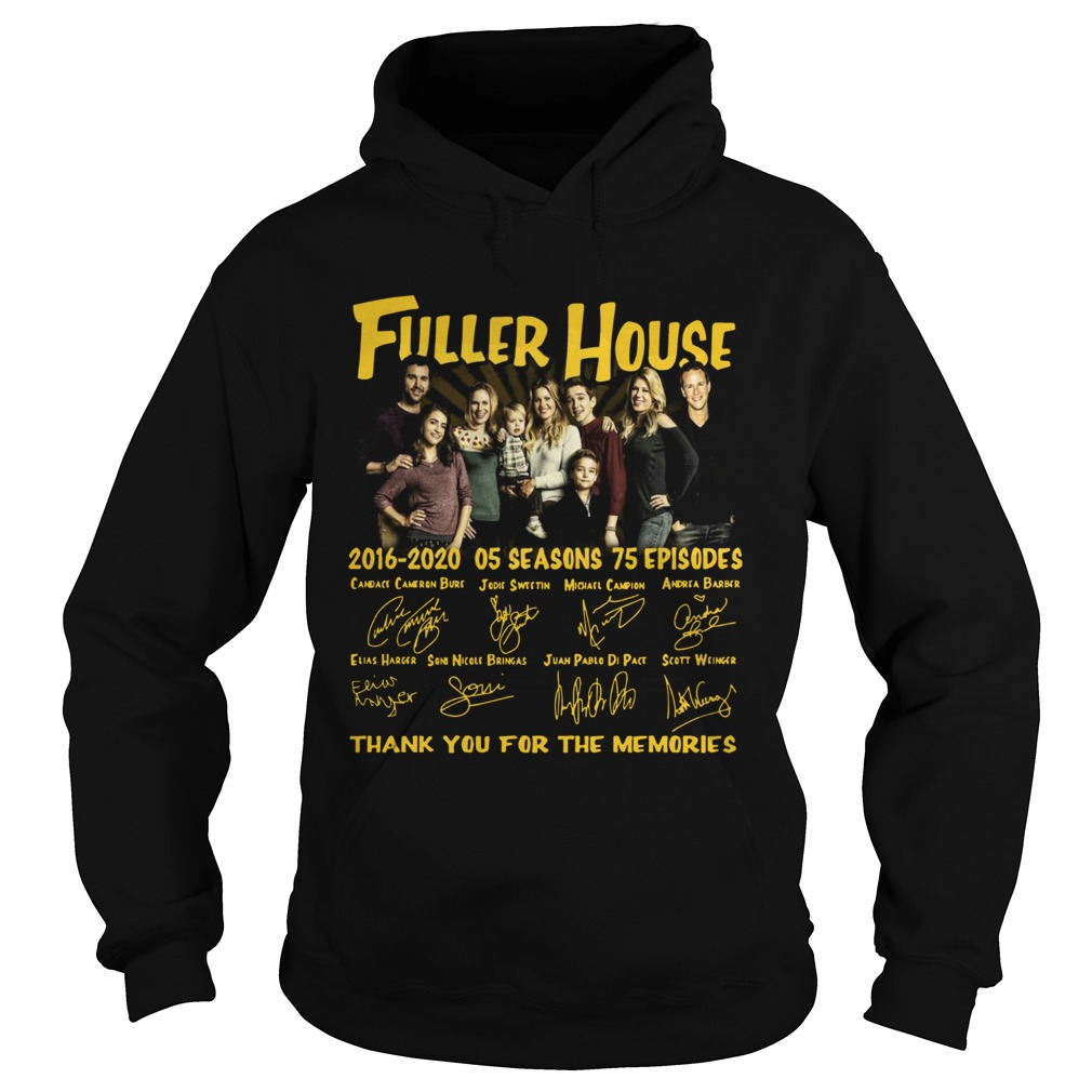 Fuller House 2016 2020 05 Seasons Thank You For The Memories  Hoodie