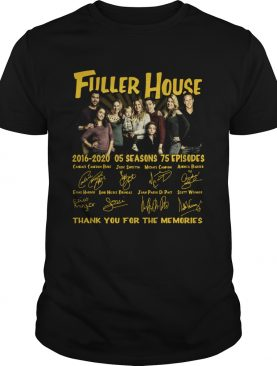 Fuller House 2016 2020 05 Seasons Thank You For The Memories shirt