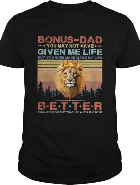 Lion king bonusdad you may not have given me life but you sure have made my life better thanks for