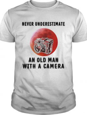 Never underestimate an old man with a came shirt