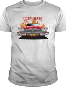 Plymou Thfront Red Christine shirt