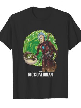 Rick And Morty The Rickdalorian shirt
