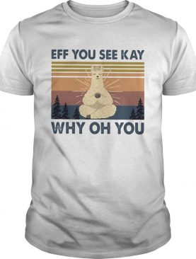 Sheep yoga eff you see kay why oh you vintage shirt