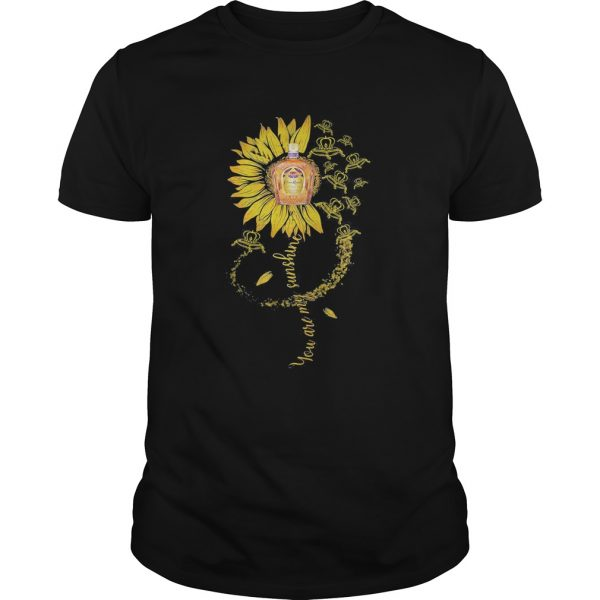 Sunflower crown royal you are my sunshine  Unisex