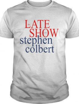 The late show with stephen colbert shirt