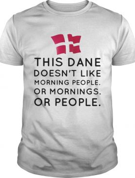 This dance doesnt like morning people or mornings or people shirt