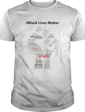 Black Lives Matter I cant Breathe shirt