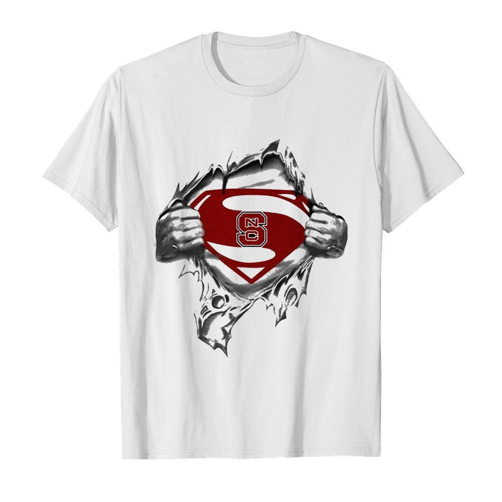 Blood insides superman north carolina state  Classic Men's T-shirt