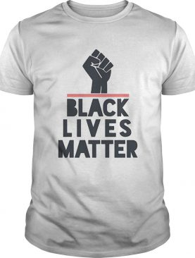 Fist juneteenth black lives matter shirt