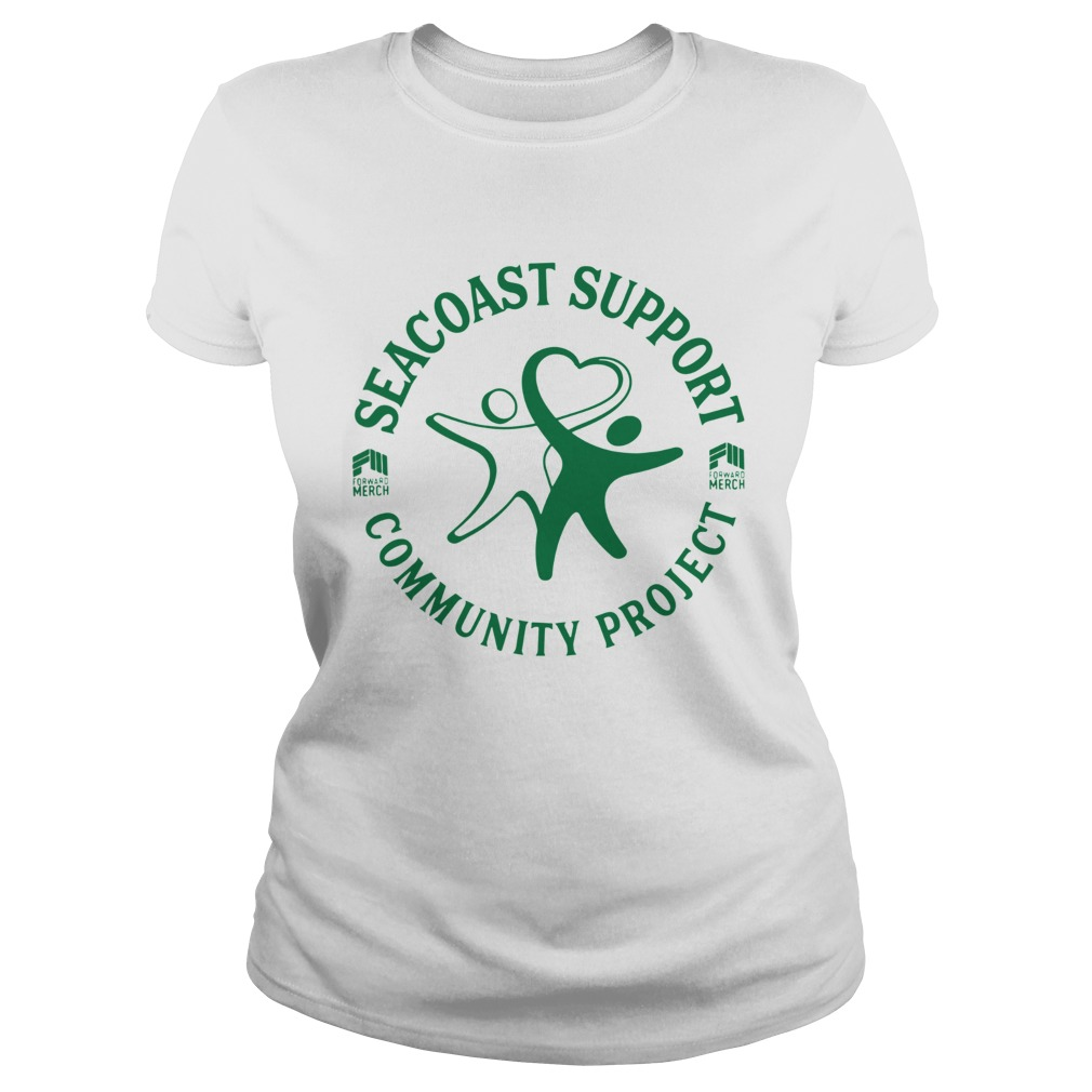 Forward Merch Seacoast Support Community Project  Classic Ladies