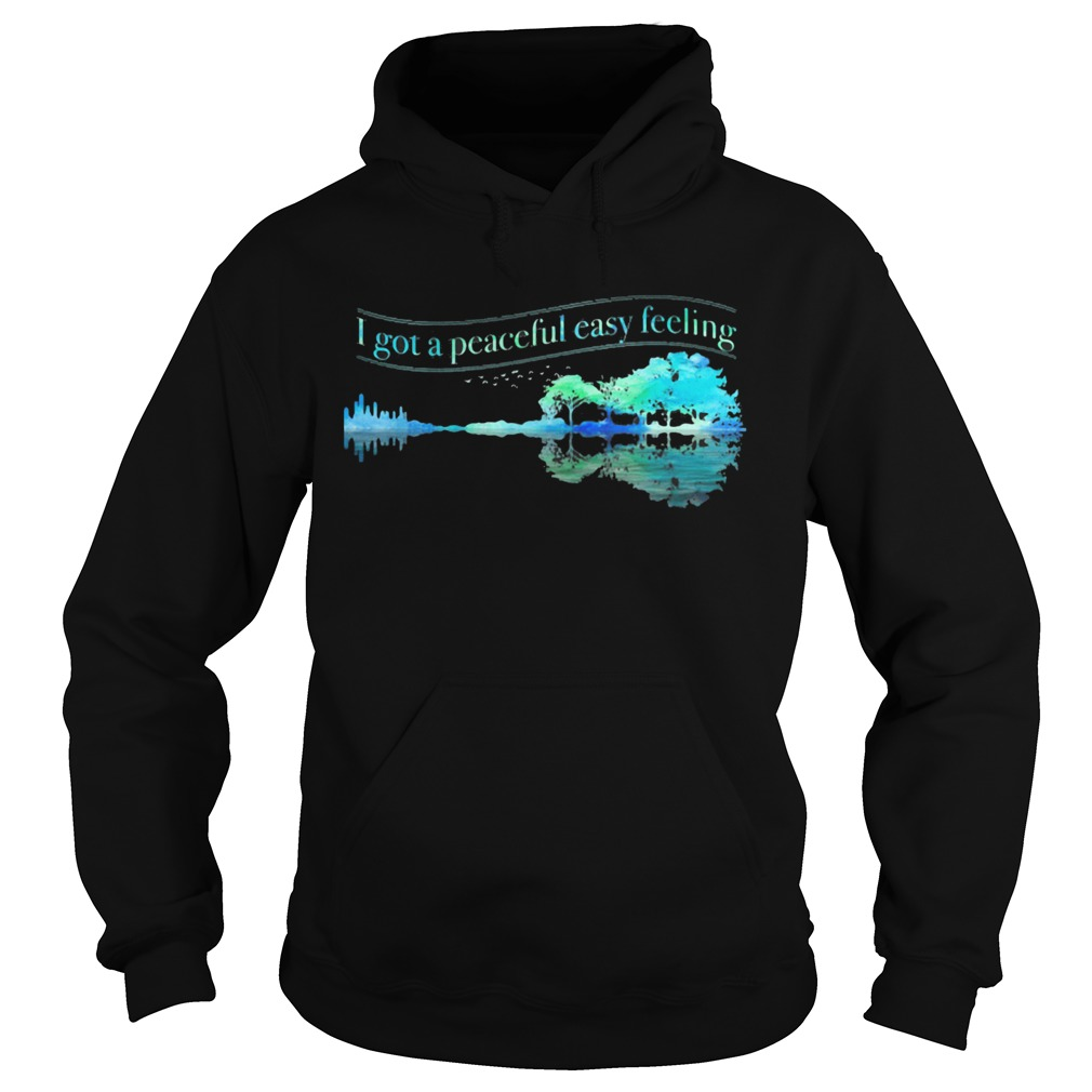 I Got A Peaceful Easy Feeling Water Reflection  Hoodie