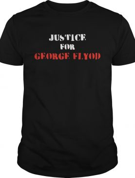 Justice for George Floyd shirt