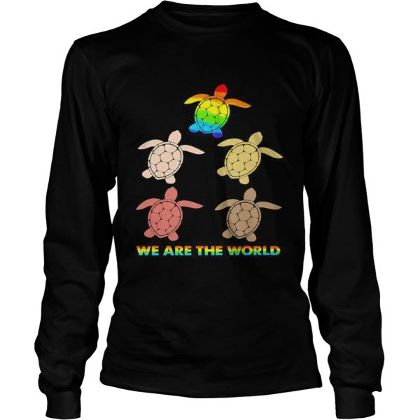 Lgbt turtle we are the world  Long Sleeve