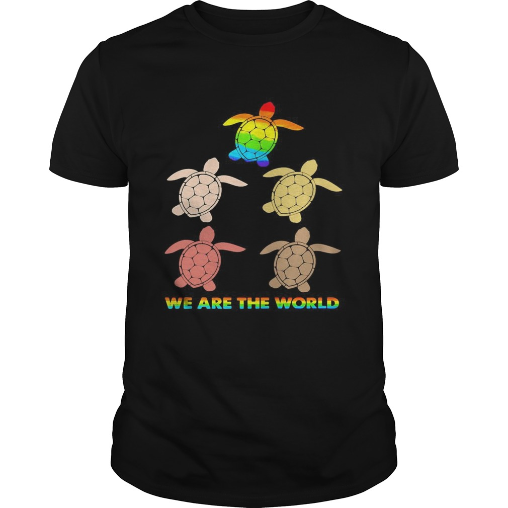 Lgbt turtle we are the world  Unisex