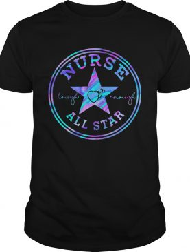 Nurse tough enough all star shirt