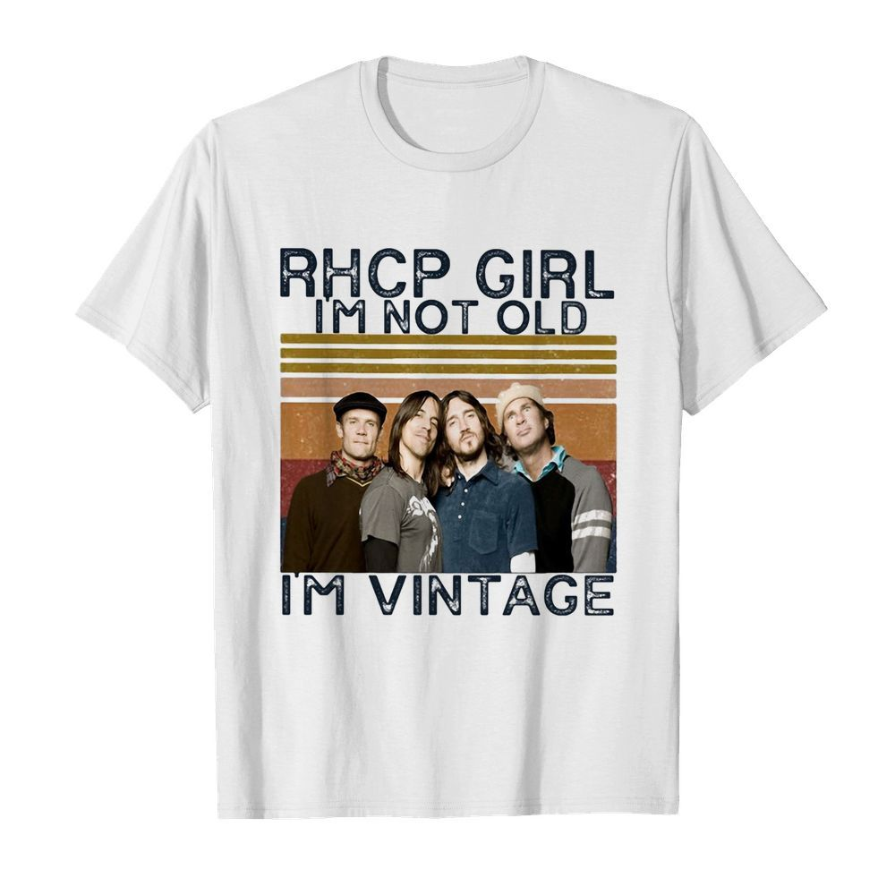Rhcp girl I'm not old I'm vintage retro  Classic Men's T-shirt