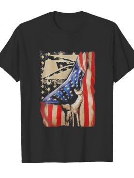 United states postal service logo american flag happy independence day shirt