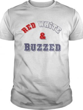 Red White And Buzzed Star shirt