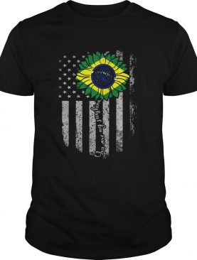 You are my sunshine sunflower american flag happy independence day shirt