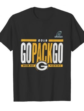 2019 go pack go green bay packers shirt