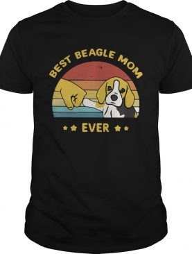 Best Beagle Mom Ever Vintage shirt