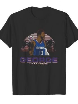 George la clippers 13 basketball shirt