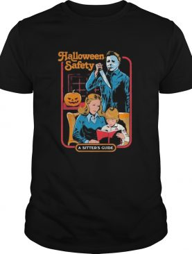 Halloween michael myers safety a sisters guide shirt
