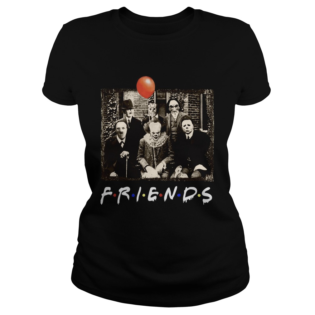 Horror Movie Characters Friends TV Show  Classic Ladies