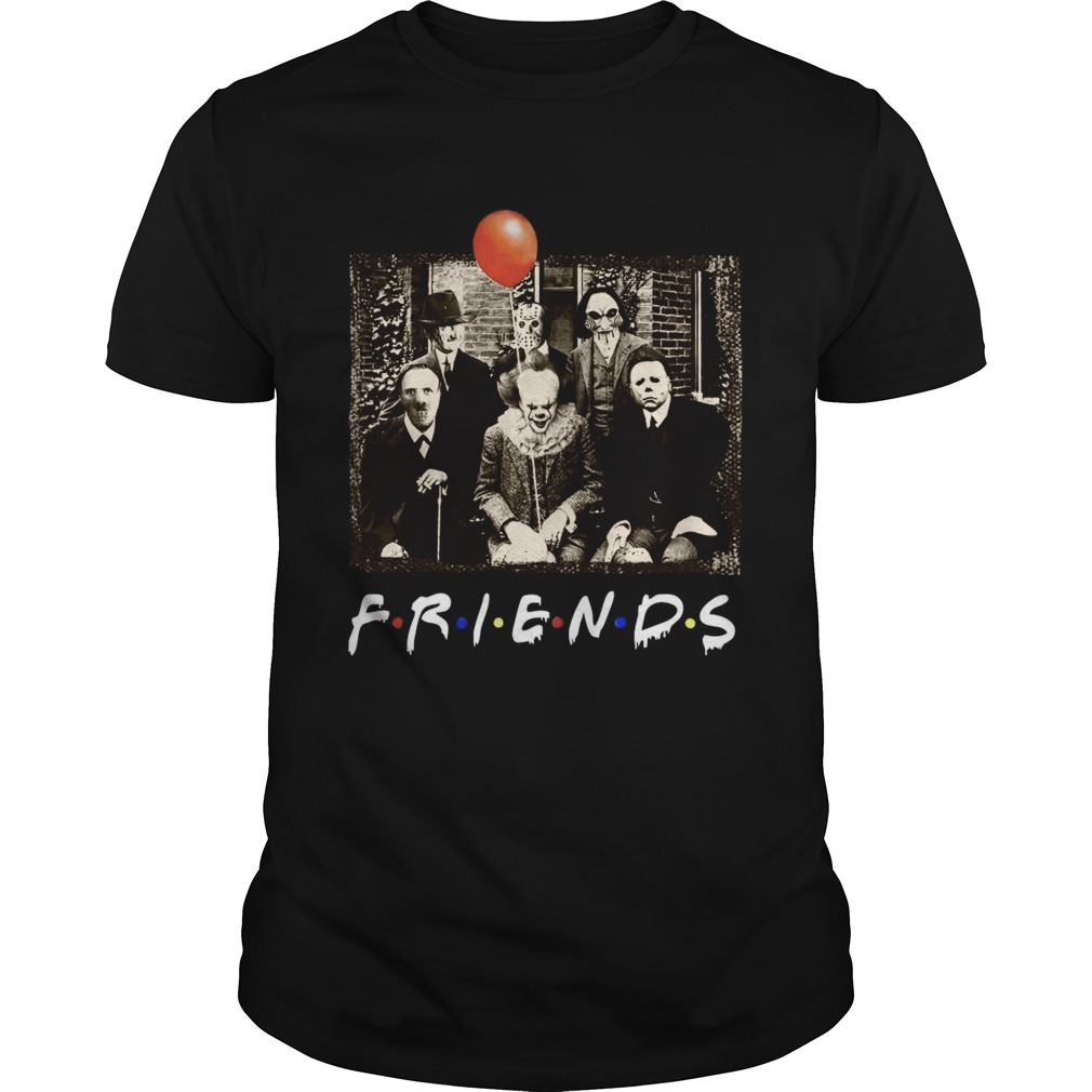 Horror Movie Characters Friends TV Show  Unisex