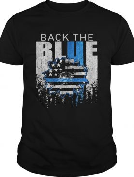Independence day black the blue shirt