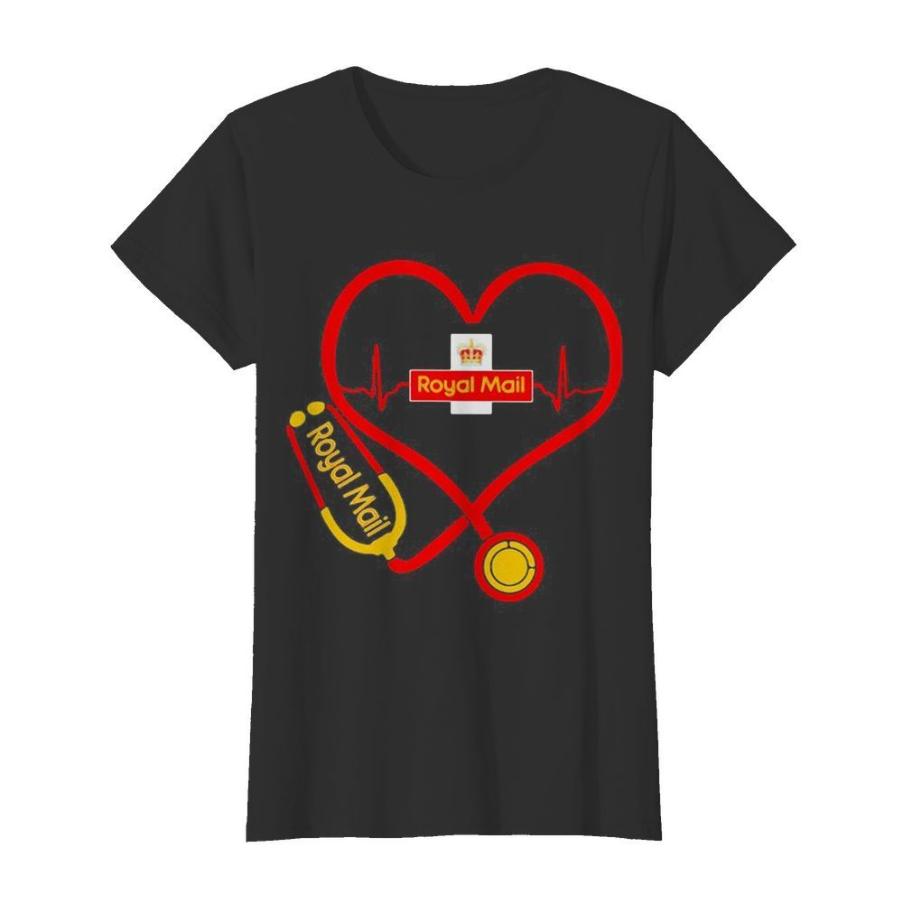Royal Mail nurse stethoscope love heartbeat  Classic Women's T-shirt