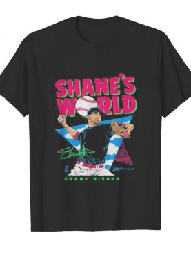 Shane's world shane bieber signature shirt
