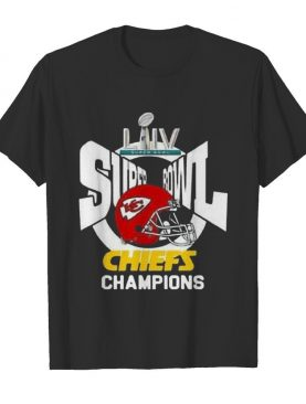 Super bowl liv champions kansas city chiefs football shirt
