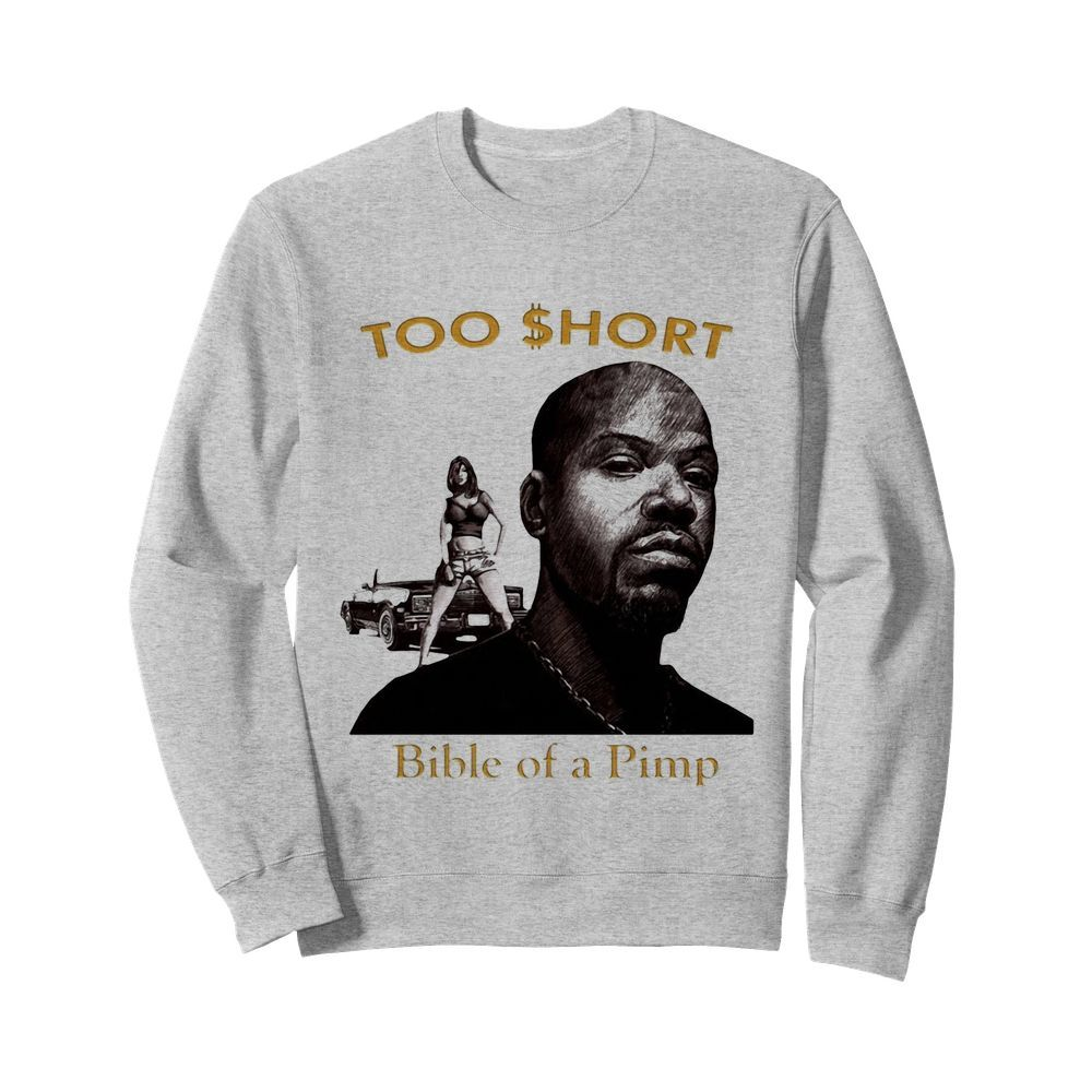 Too short shorty the pimp rare original promo poster  Unisex Sweatshirt