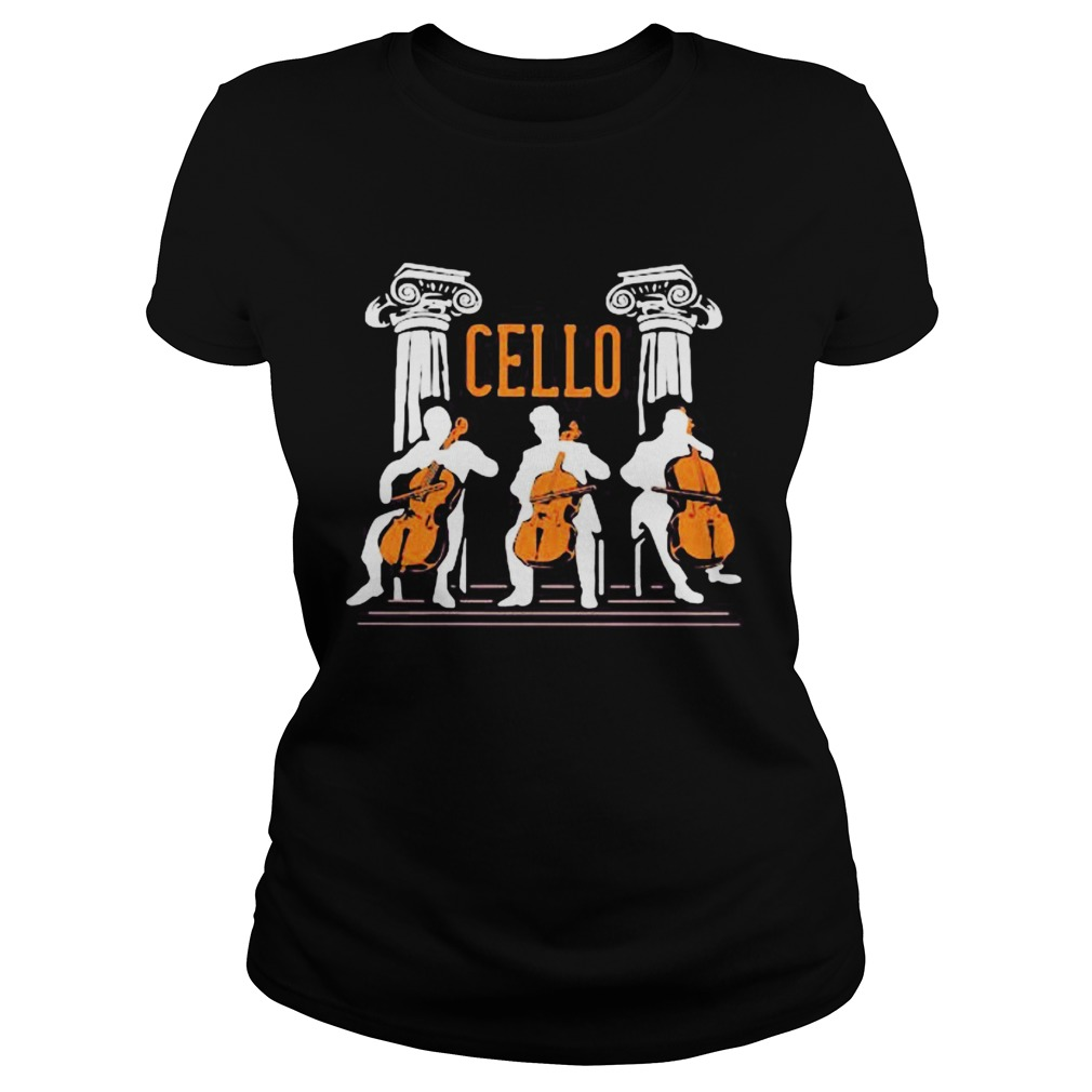 cello player  Classic Ladies