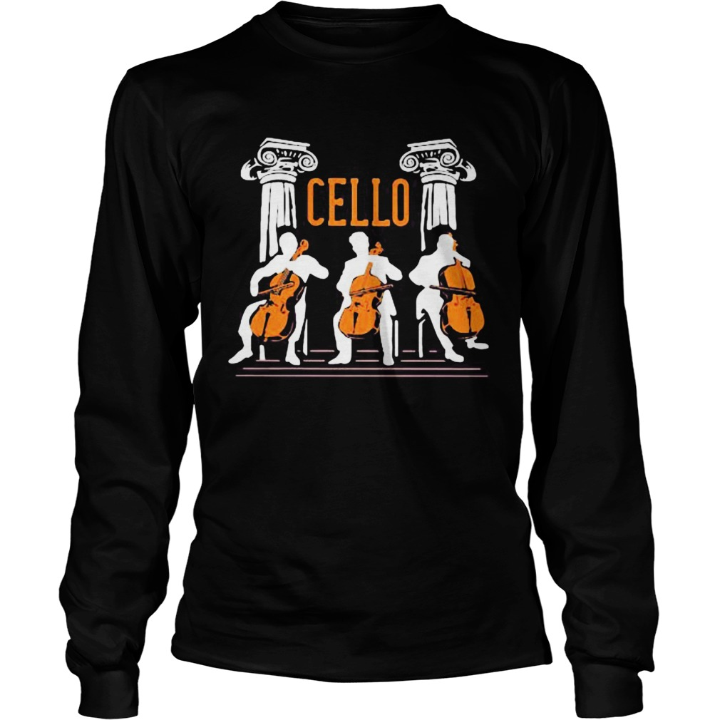 cello player  Long Sleeve