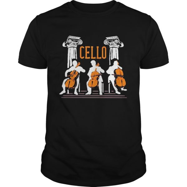 cello player shirt