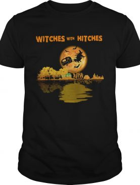 Camping Witches With Hitches Halloween shirt
