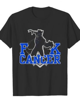 Fuck Cancer Rip Black Panther Chadwick Boseman shirt