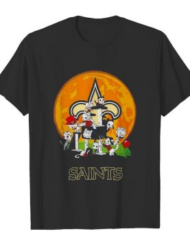Halloween Nights Horror Characters Chibi Saints shirt