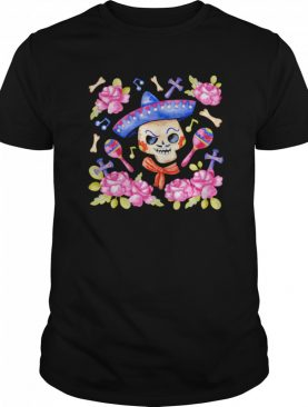 Happy Mexican Dia De Muertos Day Of Dead Sugar Skull shirt
