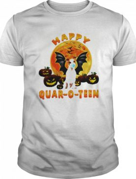 Jack Russell Terrier Dog Happy Quar O Teen Pumpkin shirt