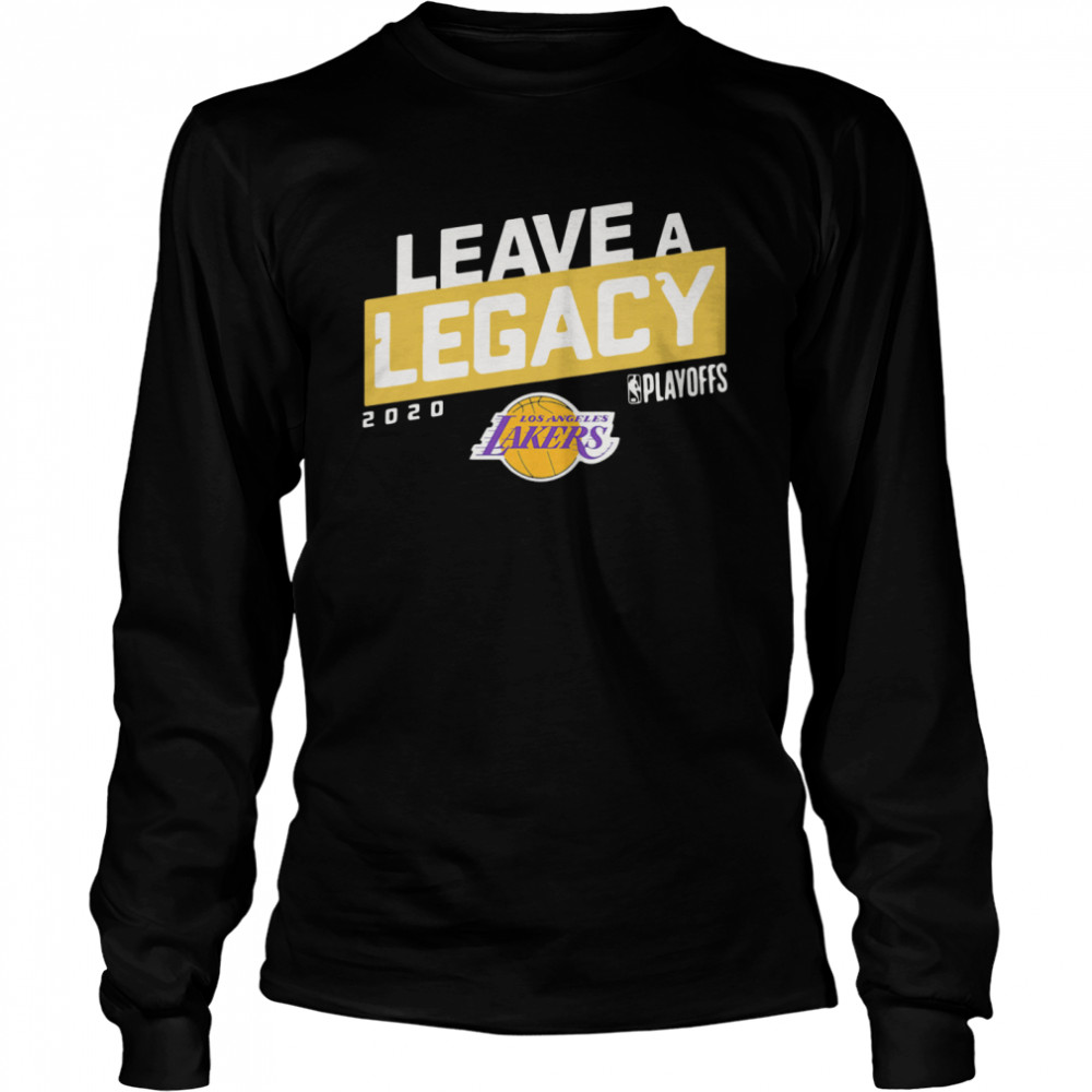 Leave A Legacy Logo  Long Sleeved T-shirt