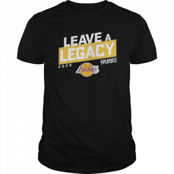 Leave A Legacy Logo shirt