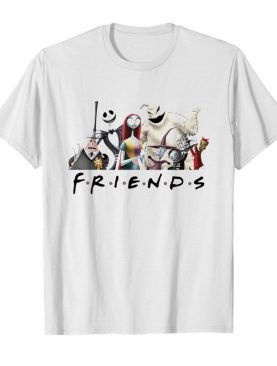Nightmare Before Christmas Characters Friends shirt