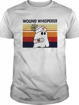Nurse Ghost Wound Whisperer Vintage Retro shirt