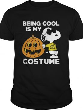 Snoopy Being Cool Is Costume shirt